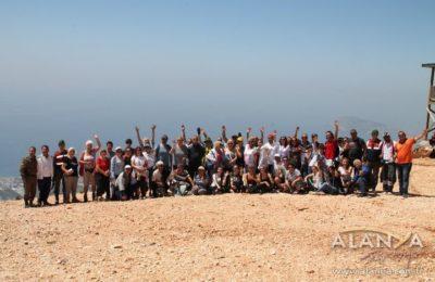 Turizm Haftası'nda doğa yürüyüşü yapıldı
