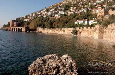 Google Map ten Alanya'yı görme Fırsatı