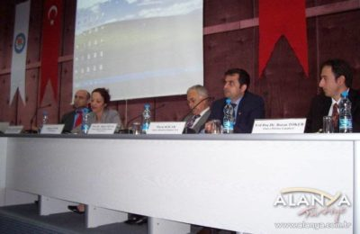 Tourism panel in Antalya