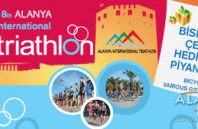 (EN) 26 Ekimde 18. Alanya Uluslararası Triatlon yarışması yapıldı