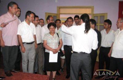 Kursiyerlere Belgeleri Verildi