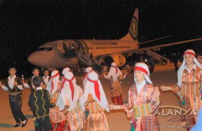 Ve Transavia Uçağı Gazipaşa Havalimanına İndi