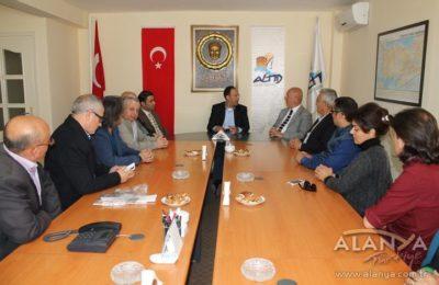 Hasan Subaşı ALTİD'i ziyaret etti