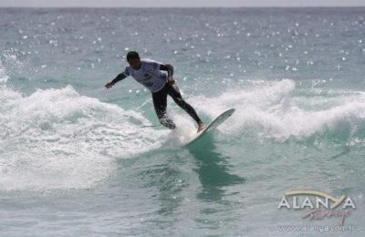 3. Türkiye Dalga Sörfü Festivali Alanya'da yapıldı