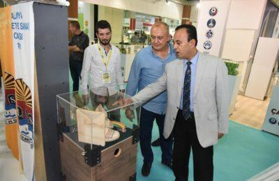 (Turkish) Yöresel ürünler sergileniyor