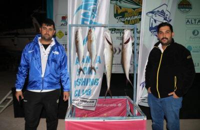 Alanya Jigging Turnuvası yapıldı