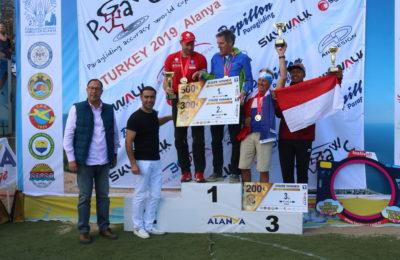 Paraşüt Dünya Şampiyonası Yapıldı