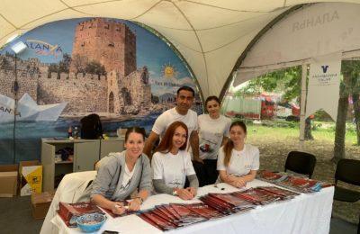 Moskova'da Türkiye Festivali Yapıldı