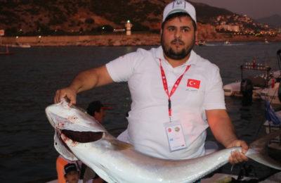 (Turkish) Olta balıkçılığı turnuvası tamamlandı