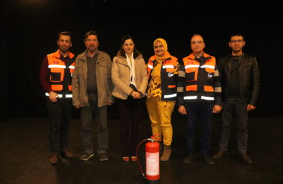 (Turkish) Afet semineri verildi
