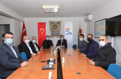 (Turkish) Kaymakam Ürkmezer'den ALTİD'e ziyaret