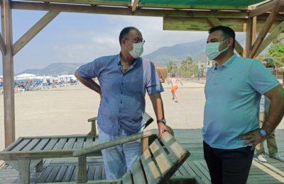 Engelsiz Halk Plajı'na Mavi Bayrak Ödülü verildi