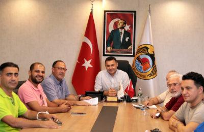 (Turkish) ALTİD'den Başkan Yücel'e ziyaret